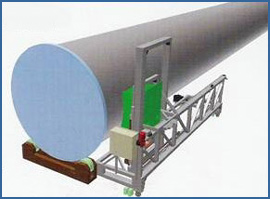 Zinc Spray Traversing System